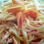 spaghettoni alle rose
