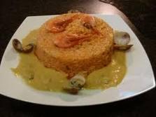 timballo di riSo con pesce