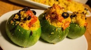 Zucchine Ripiene di couscous