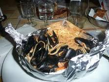 spaghettoni in barca