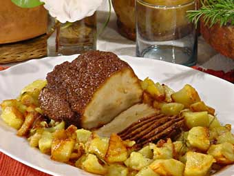 seitan con patate