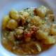 minestra di patate ed astice