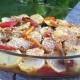 Contorno di peperoni e patate