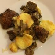 Gnocchi alla romana con funghi porcini